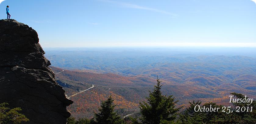 View From MacRae Peak