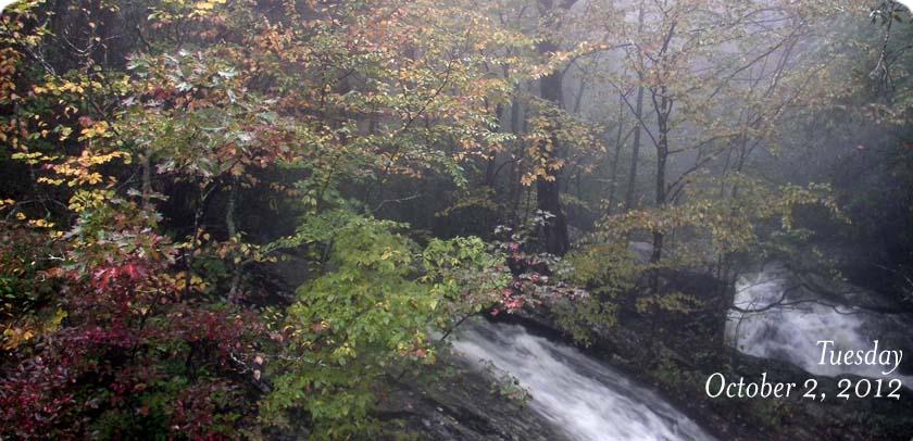 US 221 Waterfall