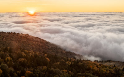 Autumn Sunrise from the Top